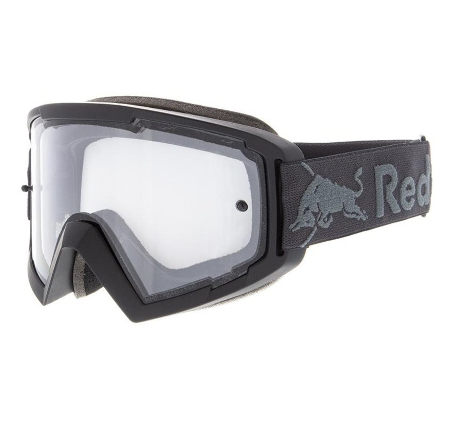 Red Bull Whip MX Brille schwarz clear view