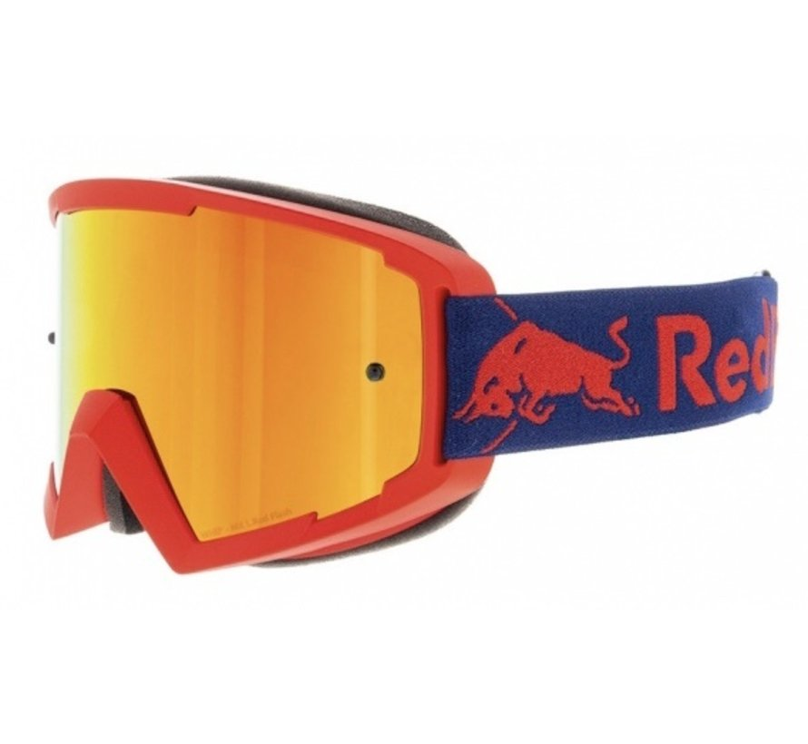 Red Bull Whip MX Brille rot verspiegelt