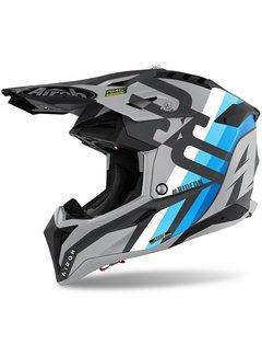 Airoh Motocross Helm Aviator 3 Rainbow anthracite matt