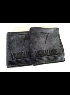 Yamalube 2 Stk. Microfaser Tuch schwarz