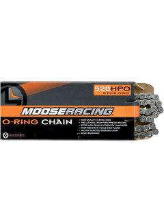 Moose Racing O-Ring Kette 520 Chain mit 120 Glieder und Clip Schloß