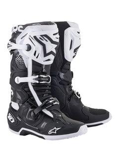 Alpinestars Stiefel Tech 10 schwarz weiß