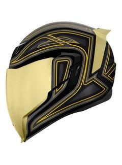 Icon Airflite ™ Helm EL Centro schwarz gold