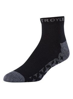 Troy Lee Designs Socken Starburst Quarter schwarz 3er Pack