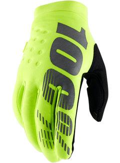 100 % Winterhandschuhe Handschuhe Brisker neongelb