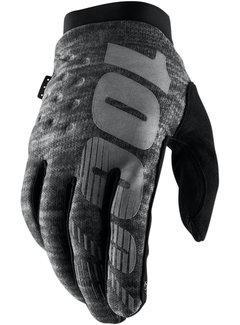 100 % Winterhandschuhe Handschuhe Brisker grau