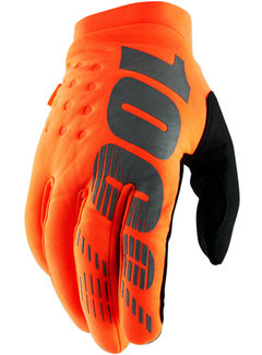 100 % Winterhandschuhe Handschuhe Brisker orange