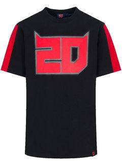 Yamaha Fabio Quartararo 20 black T-Shirt