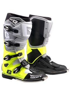Gaerne SG-12 Stiefel grey / neon-yellow / black