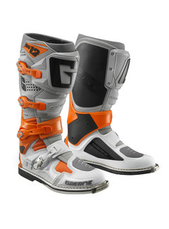 Gaerne SG-12 Stiefel orange / grey / white