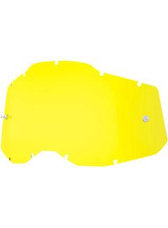 100 % Gelb Ersatzglas Lens für Accuri 2 / Strata 2 / Racecraft 2