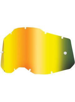 100 % Mirror Gold Ersatzglas Lens für Accuri 2 / Strata 2 / Racecraft 2