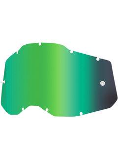 100 % Mirror Grün Ersatzglas Lens für Accuri 2 / Strata 2 / Racecraft 2