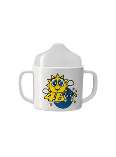 VR46 Baby - Becher Son and Moon white