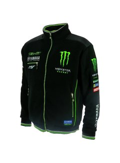 Yamaha Tech3 Moto GP Racing Monster Team Zip Vlies Jacke Team Größe M