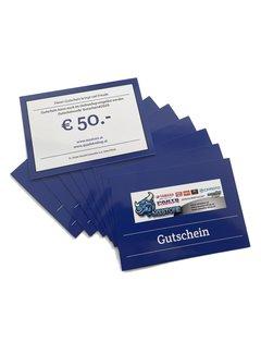 MXStore - Quadatvshop Gutschein € 50.-