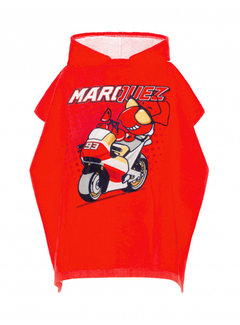 GPRacing Poncho Badetuch Kid Marc Marquez red