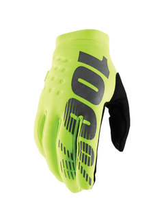 100 % Kinder Winterhandschuhe Handschuhe Brisker neongelb