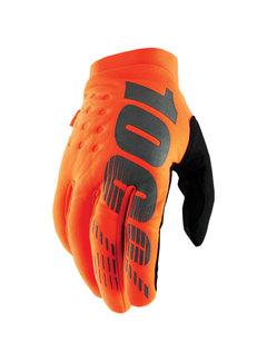 100 % Kinder Winterhandschuhe Handschuhe Brisker orange