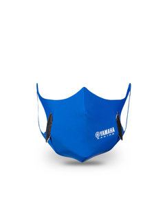 Yamaha Racing Mund-Nase-Schutz mit Kohlenstofffilter
