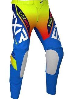 FXR Helium MX Gear Motocross Hose blau gelb rot