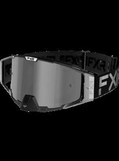 FXR Pilot LE MX Gear Motocross Brille chrom