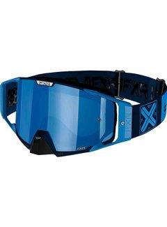 FXR Pilot MX Gear Motocross Brille blau