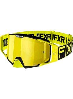 FXR Pilot MX Gear Motocross Brille hi viz gelb