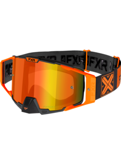 FXR Pilot MX Gear Motocross Brille orange
