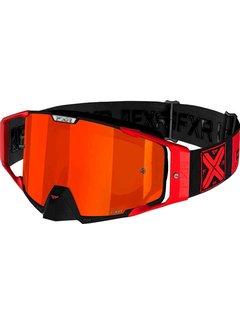 FXR Pilot MX Gear Motocross Brille rot