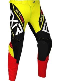 FXR Helium MX Gear Motocross Hose gelb schwarz rot