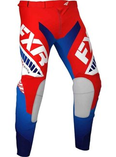 FXR Revo MX Gear Motocross Hosen schwarz rot
