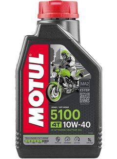 Motul 5100 Ester 10W40 Halbsynthetisches Motorenöl