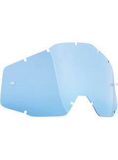 100 % Ersatzglas Glas Lens für FMF Vision Brille blau
