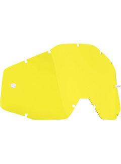 100 % Ersatzglas Glas Lens für FMF Vision Brille gelb