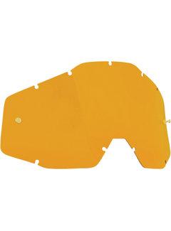 100 % Ersatzglas Glas Lens für FMF Vision Brille orange