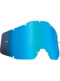100 % Ersatzglas Glas Lens für FMF Vision Brille Mirror blau