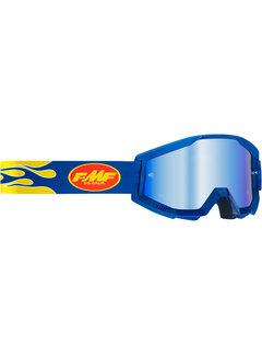 100 % FMF PowerCore MX Brille Flame dunkelblau