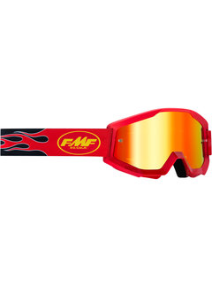 100 % FMF PowerCore MX Brille Flame rot
