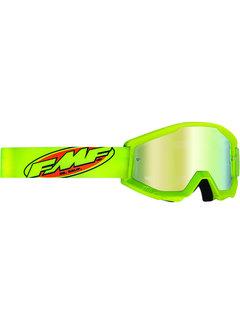 100 % FMF PowerCore MX Brille Core gelb fluoreszierend grün, fluoreszierend