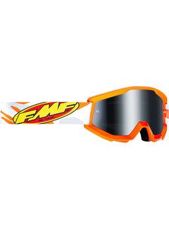 100 % FMF PowerCore MX Brille Assault grau orange