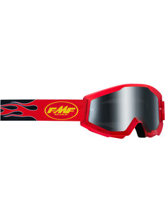 100 % FMF PowerCore MX Brille Flame Sand rot