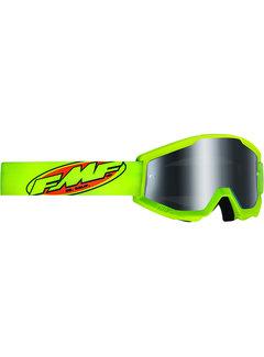 100 % FMF PowerCore MX Brille Core Sand gelb fluoreszierend grün, fluoreszierend