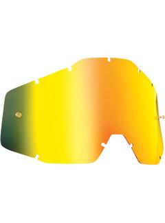 100 % Ersatzglas Glas Lens für FMF Vision Kinder Brille Mirror gold