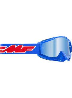 100 % FMF PowerBomb MX Brille Youth Kinder Rocket blau
