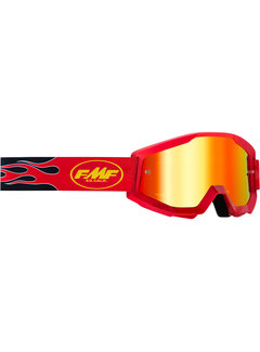 100 % FMF PowerCore MX Brille Youth Kinder Core rot