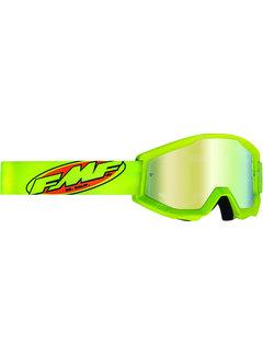 100 % FMF PowerCore MX Brille Youth Kinder Core gelb fluoreszierend| grün fluoreszierend