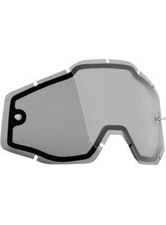 100 % Ersatzglas Glas Lens für FMF Vision Brille PowerBomb/PowerCore Dual Panel smoke