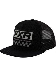 FXR Cap Kappe Race Division schwarz grau