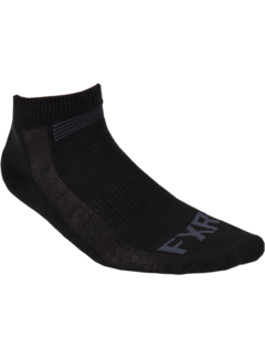 FXR Turbo Ankle Socken schwarz 3er Pack
